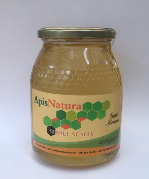 Miel de Acacia, origen Rumanía  1Kg