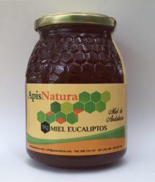 Miel de Eucalipto, origen España  1Kg