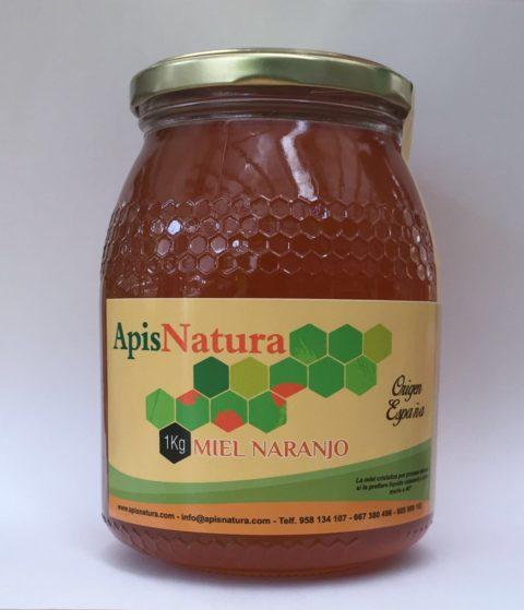 Miel de Naranjo, origen España Alpujarras  1Kg