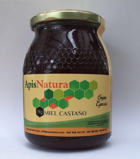 Miel de Castaño, origen España 1Kg