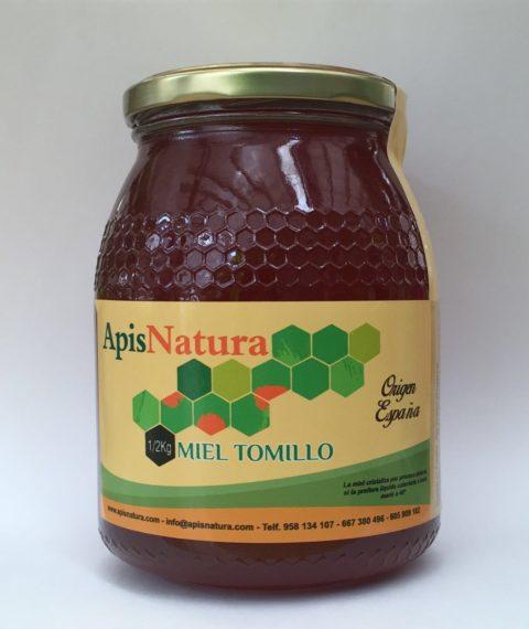 Miel de Tomillo, origen España 1/2Kg