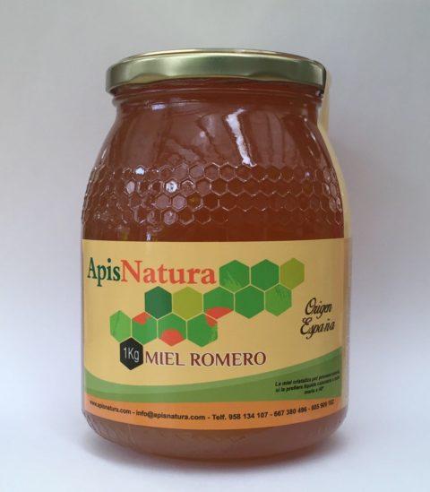 Miel de Romero, origen España Alpujarras 1Kg