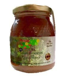 Miel de eucalipto de Brasil con ultragreen própolis