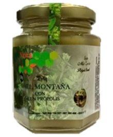 Miel de montaña de Brasil (Velame) con ultragreen própolis