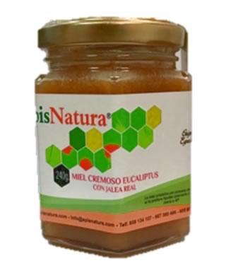Miel cremosa de eucalipto de Brasil con Jalea Real