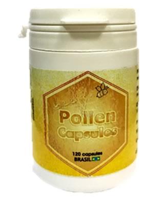 Polen en bote de 120 cápsulas de 250 mg